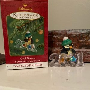 "Hallmark ""COOL DECADE"" ornament - 2001"